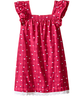 Hatley Kids - Little Hearts Flutter Sleeve Dress (Toddler/Little Kids/Big Kids)