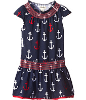 Hatley Kids - Anchor Smocked Dress (Toddler/Little Kids/Big Kids)