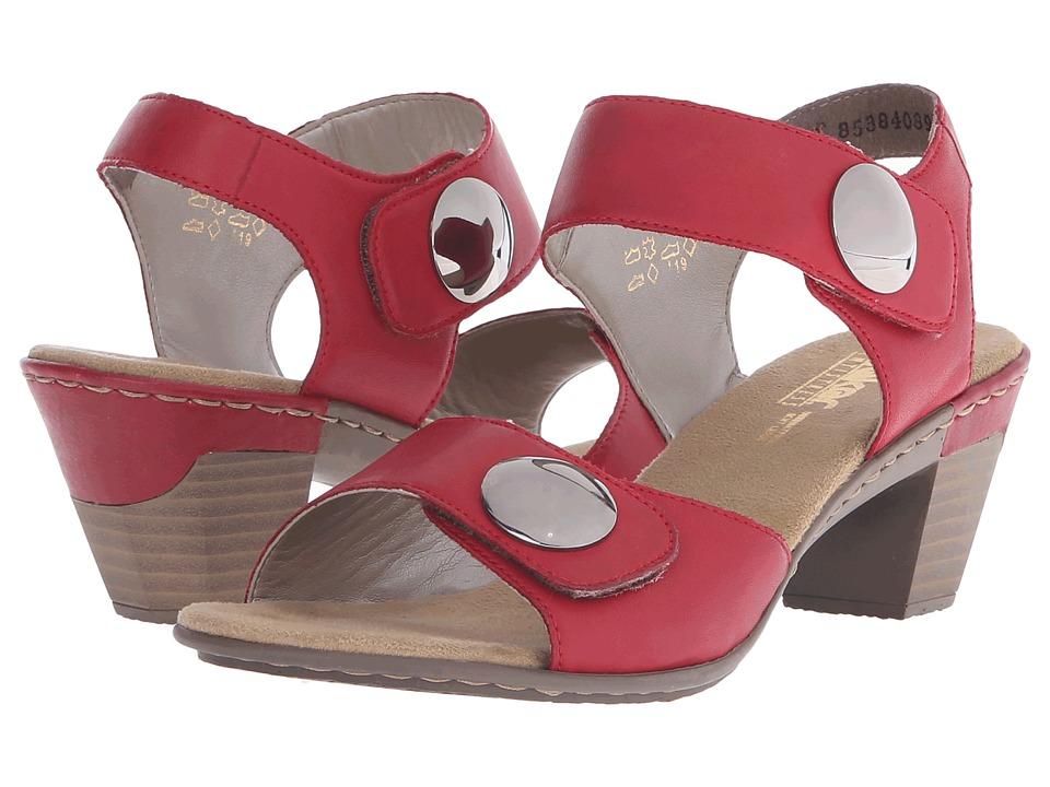 Rieker Antistress 67369 Aileen 69 (Rosso) Women's Sandals