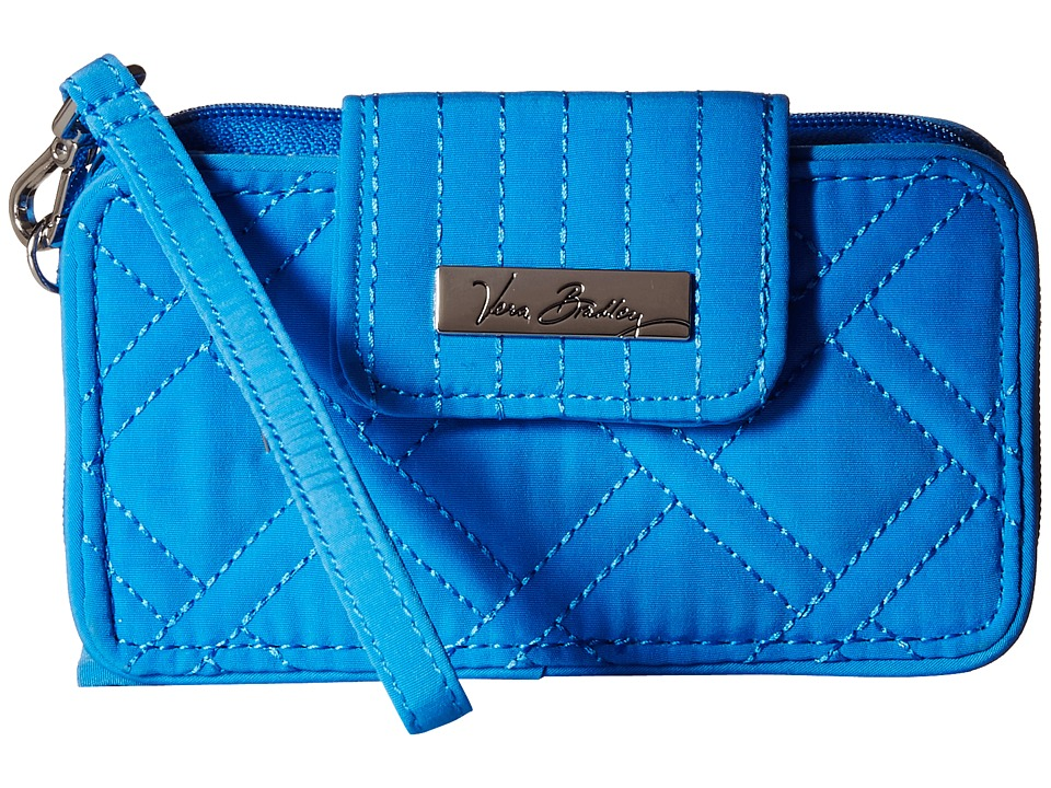 Vera Bradley Smartphone Wristlet for iPhone 6 Coastal Blue 1 Clutch Handbags