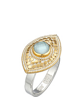 Anna Beck - Aquamarine Evil Eye Ring