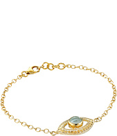 Anna Beck - Third Eye Green Amethyst Chain Bracelet