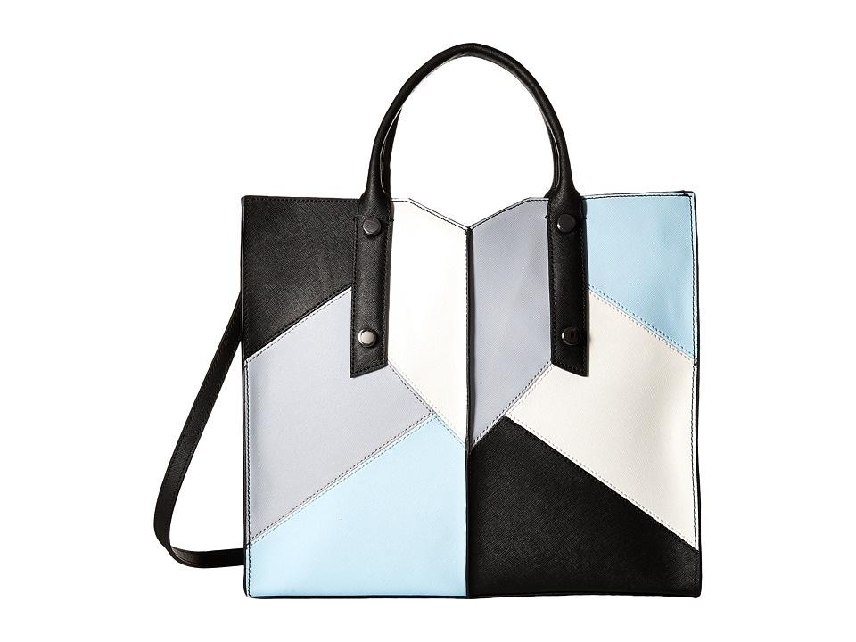 Botkier - Murray Hill Tote (Black Patchwork) Tote Handbags