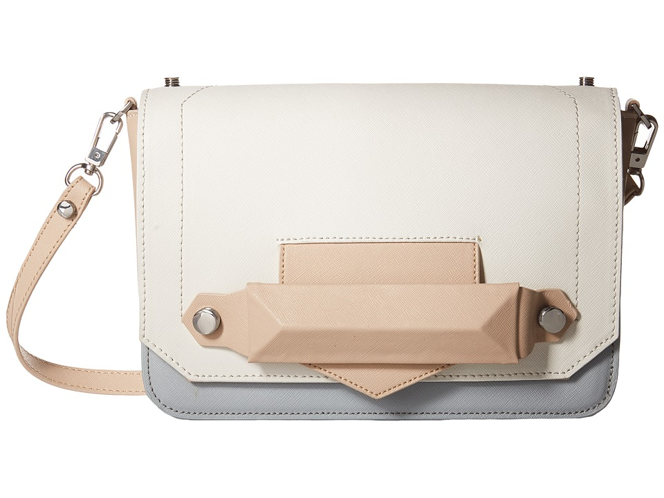 Botkier - Reade Shoulder (Latte Colorblock) Shoulder Handbags