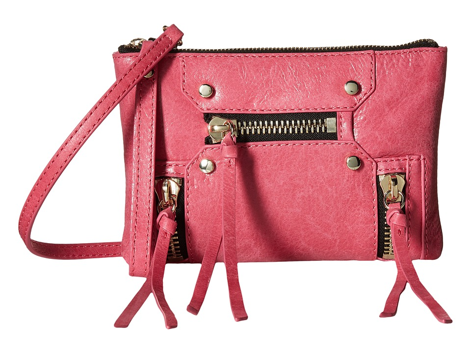 Botkier Logan Convertible Wristlet Beet Wristlet Handbags