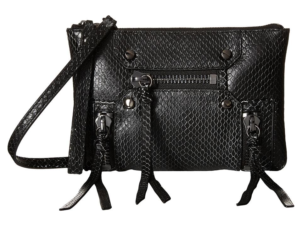 Botkier Logan Convertible Wristlet Black Wristlet Handbags