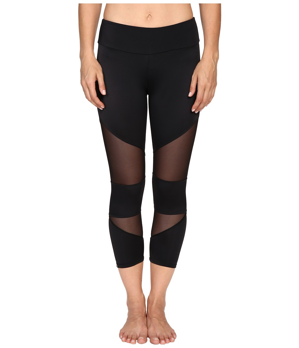 Onzie Onzie - Black Mesh Cut Out Capris