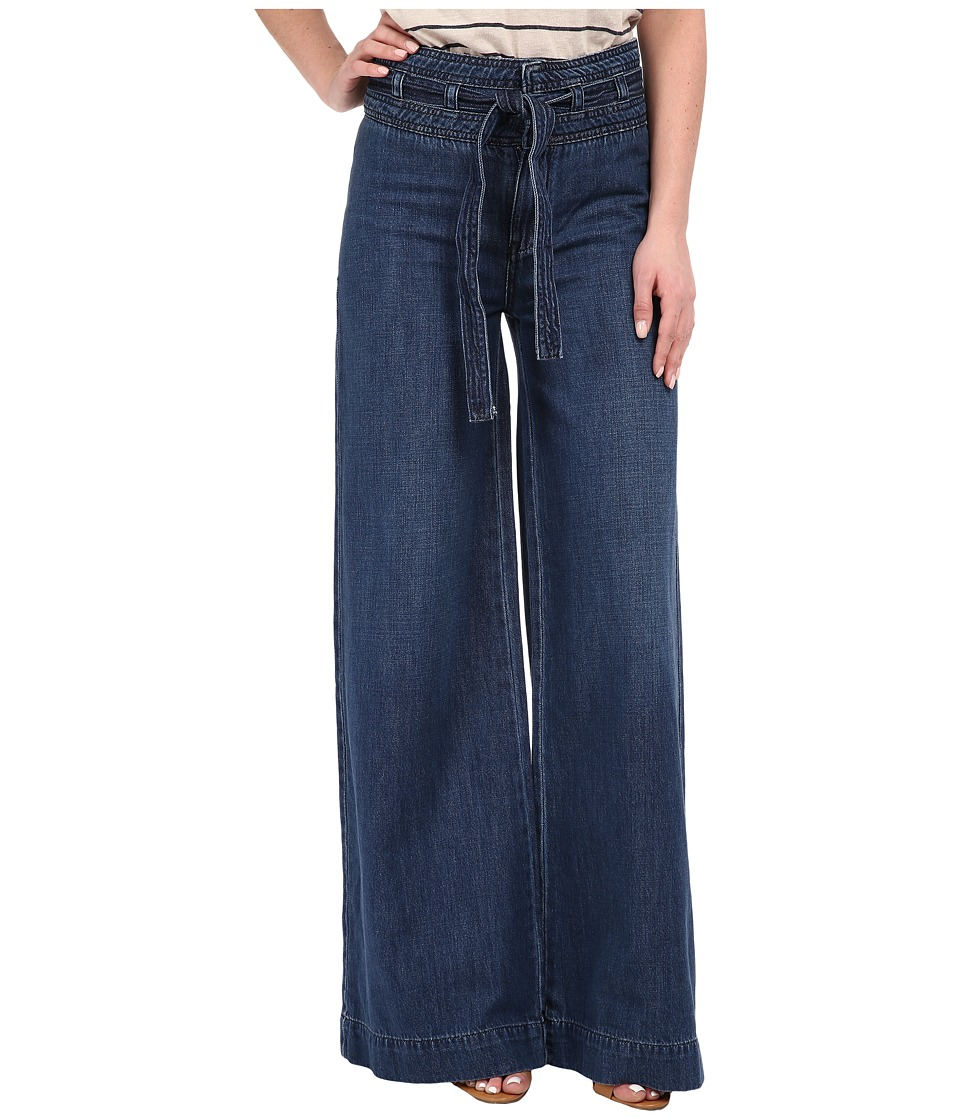 Free People Augusta Clean Flare Pants Maytal Blue Womens Casual Pants