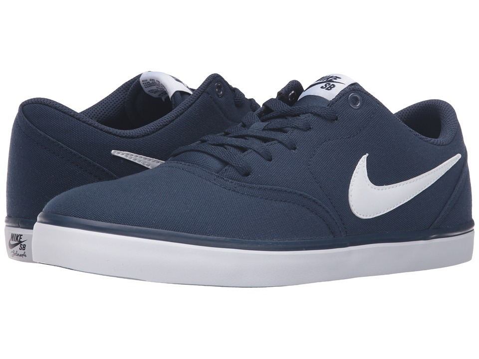 cfae22c809e5 Related Items for Nike SB - Check. Nike SB - Check Solar Canvas (Midnight  Navy White) Men s Skate Shoes