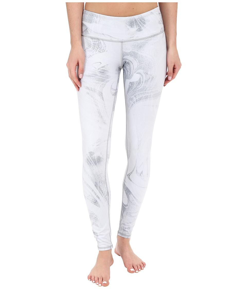 ALO Airbrushed Legging White Marble Womens Workout