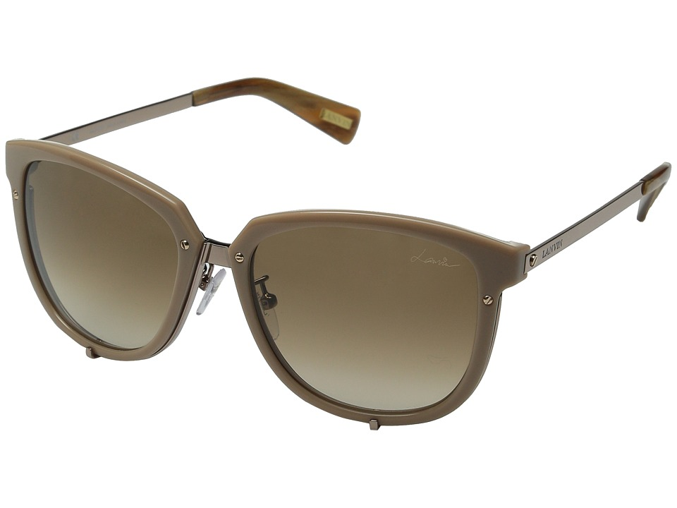 Lanvin SLN046 Rose Gold/Gradient Brown Fashion Sunglasses