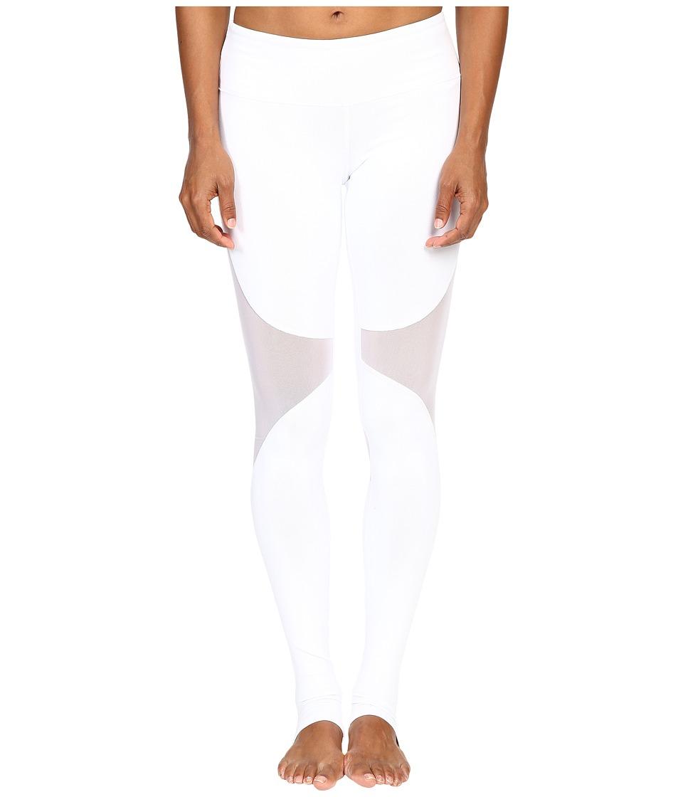 ALO - Coast Leggings (White/White) Women's Casual Pants -  adult