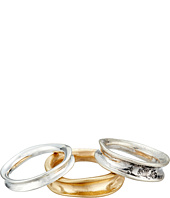 Robert Lee Morris - Two-Tone Metal Ring Set