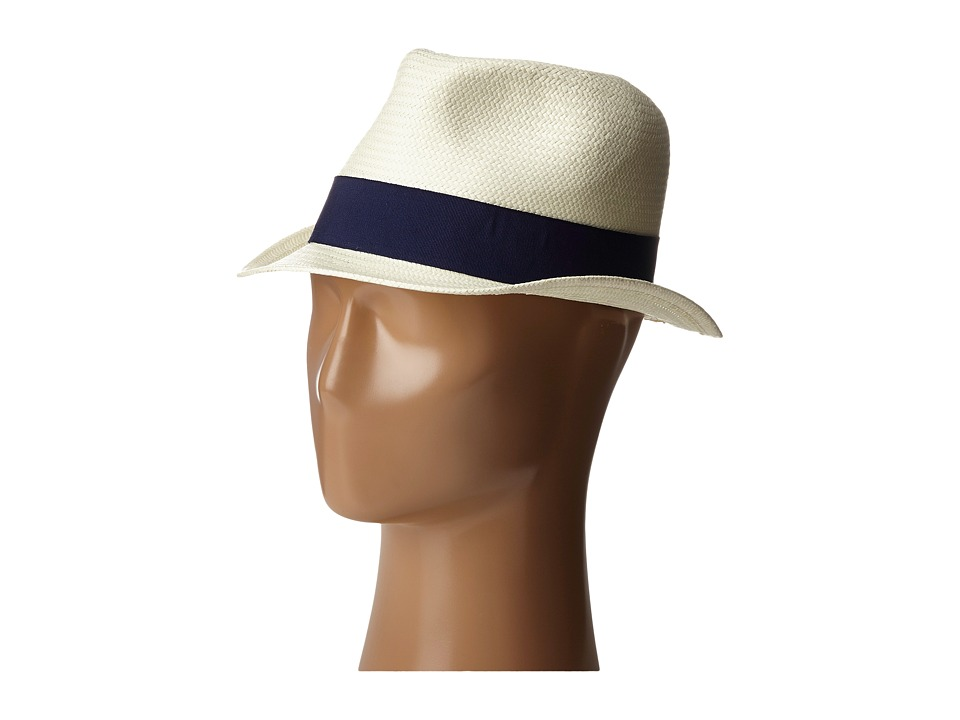 Michael Stars - Pop Band Short Brim Panama Hat (Nocturnal) Caps