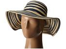Michael Stars Swirl Striped Floppy Hat