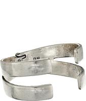 Robert Lee Morris - Soft Silver Hinged Bangle Bracelet