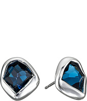 Robert Lee Morris - Blue Stone Stud Earrings