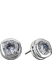 Robert Lee Morris - Crystal Cubic Zirconia Stud Earrings