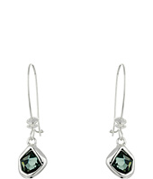 Robert Lee Morris - Black Diamond Shepherd Hook Earrings