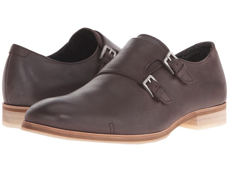 Calvin Klein - Faber (Dark Brown Washed Leather) Men