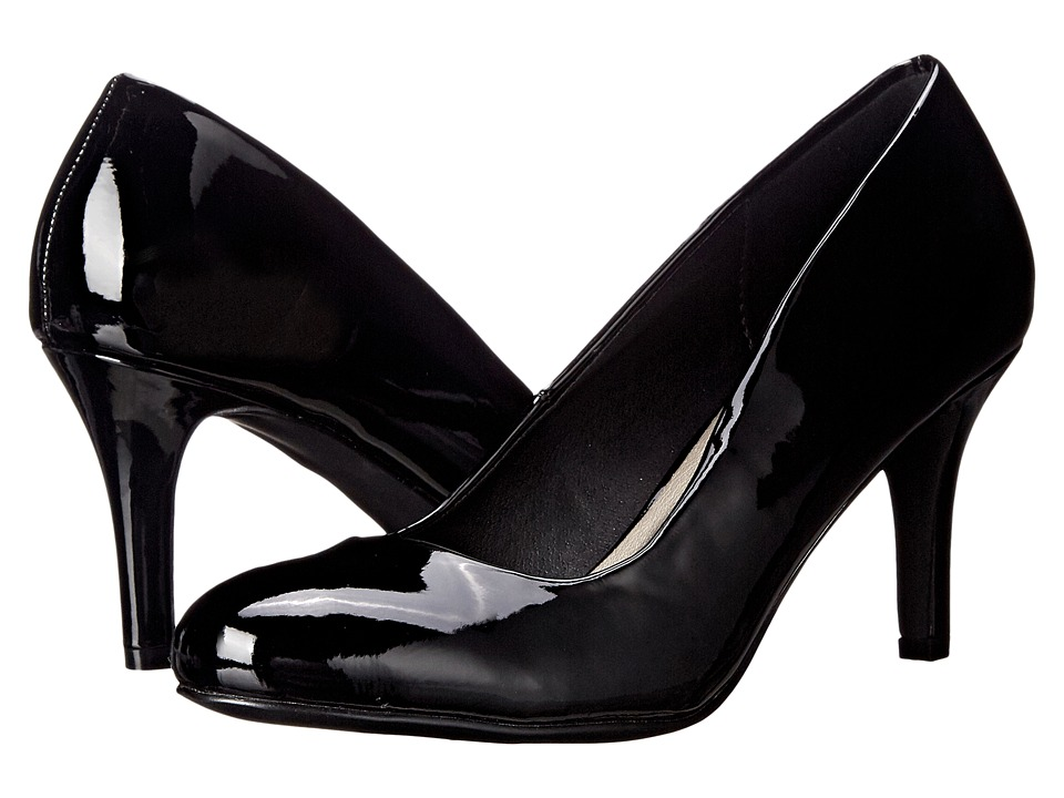 Michael Antonio Finnea Patent Black Patent High Heels