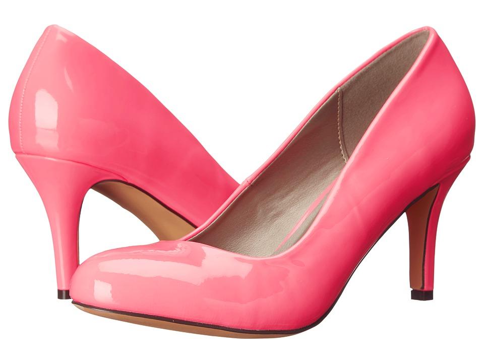 Michael Antonio Finnea Patent Pink Patent High Heels
