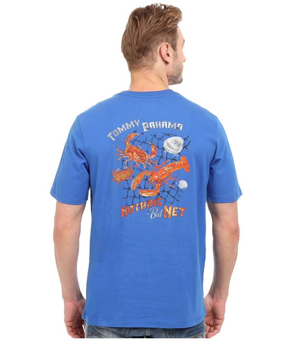 Tommy Bahama - Nothing But Net Tee (Cobalt Glass) Men