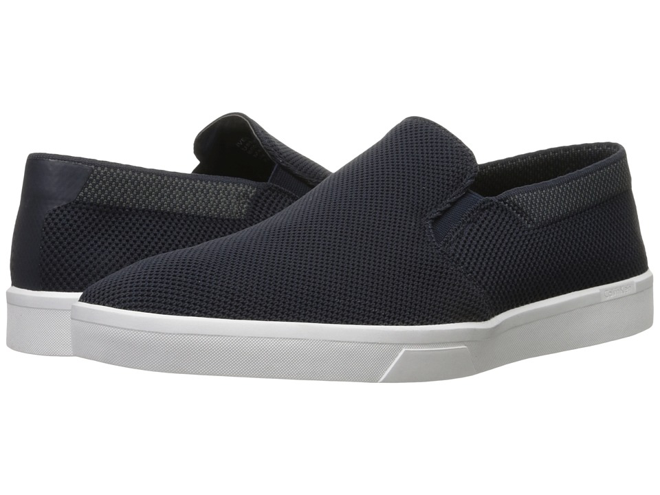 Calvin Klein - Ives (Dark Navy Knit Weave) Men