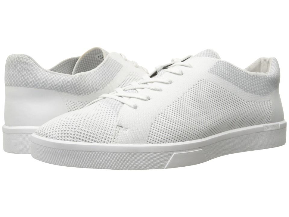Calvin Klein - Ion (White Knit Weave) Men