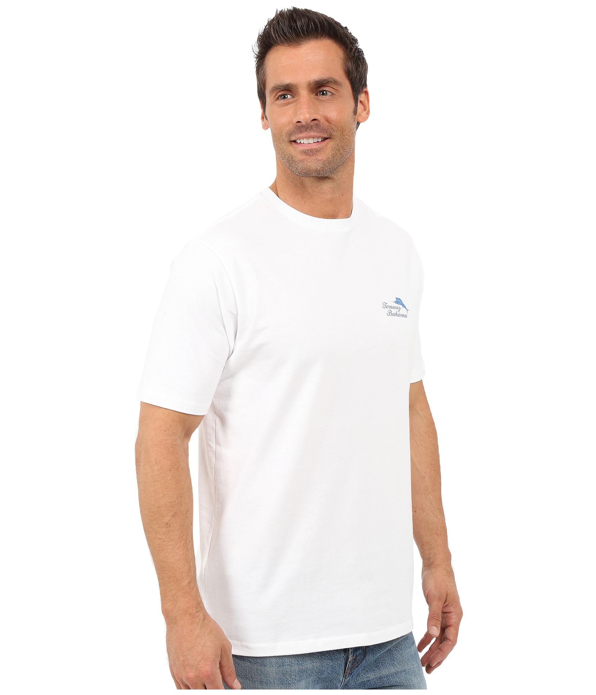 Tommy bahama tee party t shirt white free for Custom tommy bahama shirts