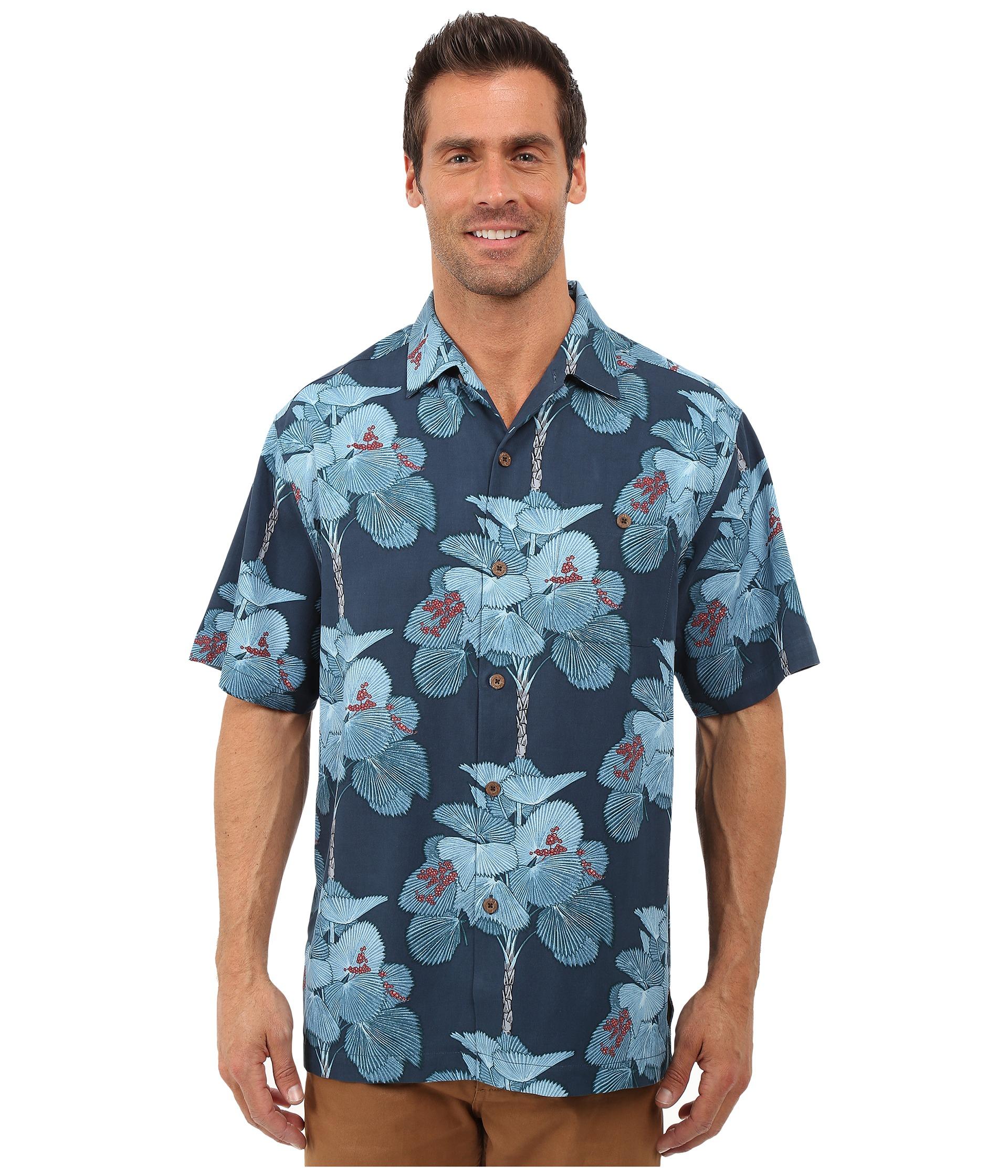 Tommy bahama i 39 m a big fan tortola silk camp shirt dress for Custom tommy bahama shirts