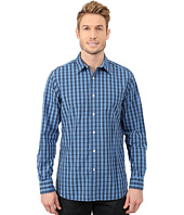 Nautica - Long Sleeve Poplin Small Plaid