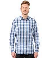 Nautica - Long Sleeve Poplin Large Plaid