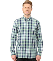 Nautica - Long Sleeve Poplin Medium Plaid