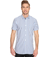 Nautica - Short Sleeve Small Plaid with Pocket