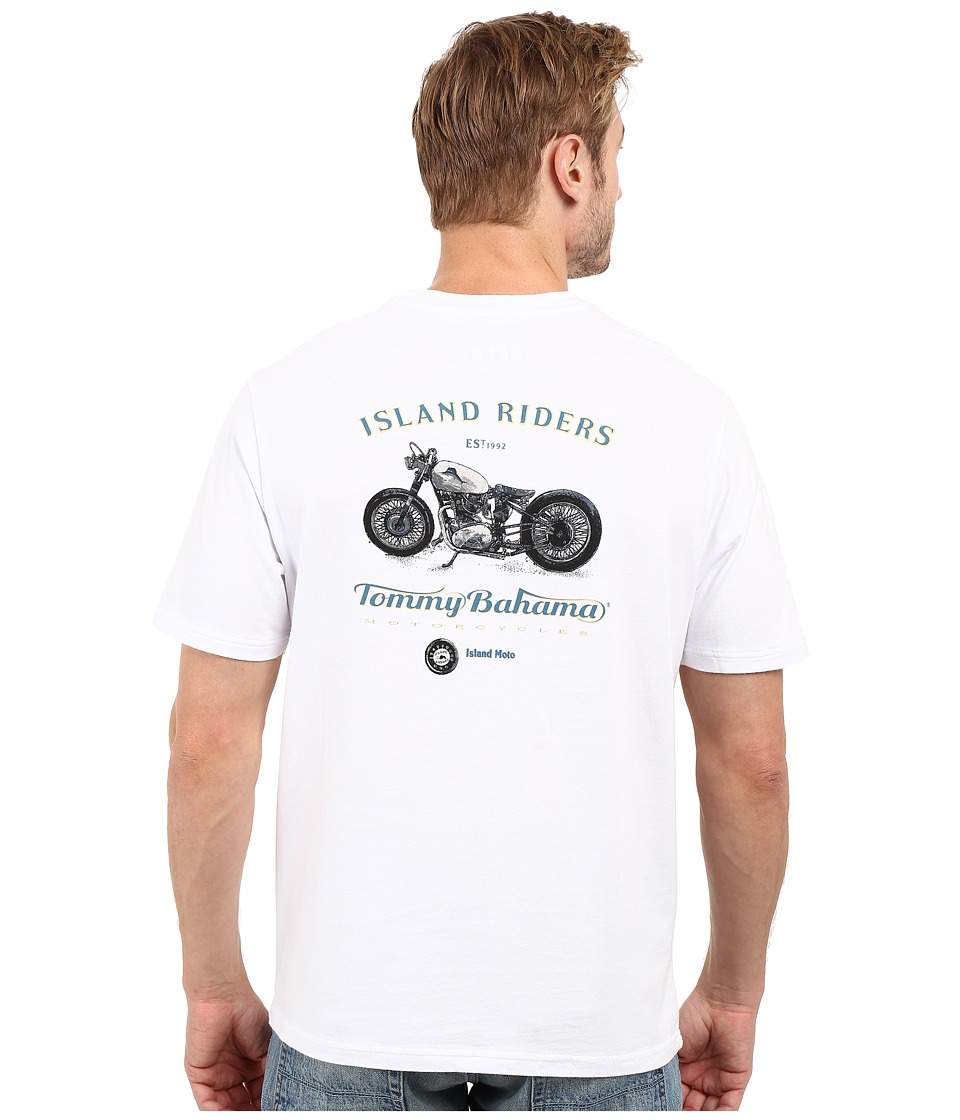 Tommy Bahama Island Riders Tee (White) Men