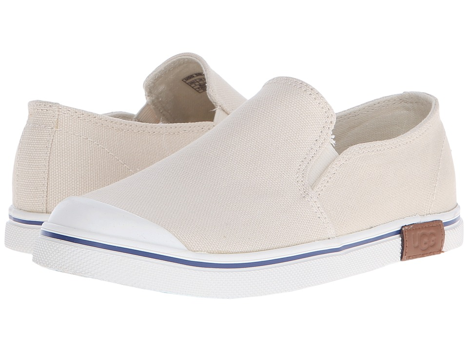 UGG Kids Randi Toddler/Little Kid/Big Kid Cream Canvas/Denim Girls Shoes