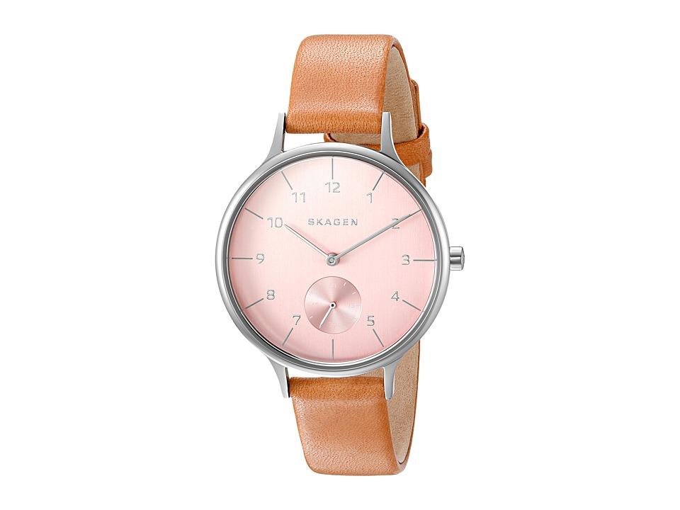 Skagen Anita SKW2406 Silver/Tan Watches