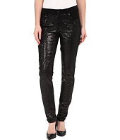 CJ by Cookie Johnson - Peace Skinny Jeans w/ Sequin in Black