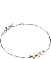 Fossil - Sterling Silver Heart Bracelet
