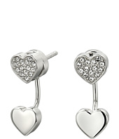 Fossil - Heart Stud Earrings