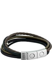 Fossil - Retro Pilot Multi-Strand Cuff Bracelet