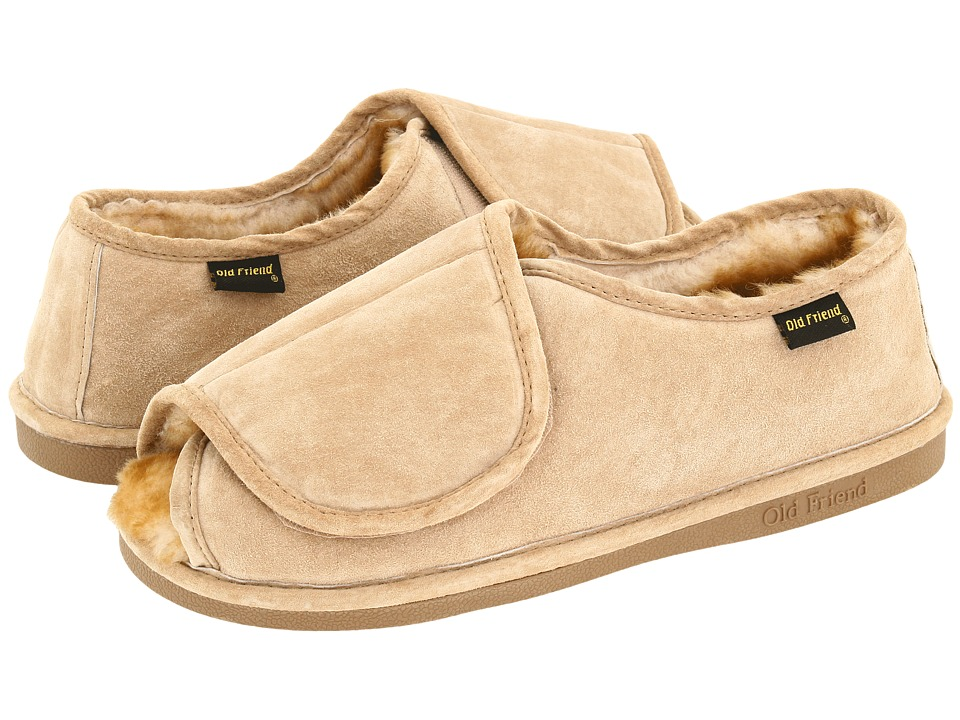 Old Friend - Step-In (Chestnut W/Stony Fleece) Mens Slippers