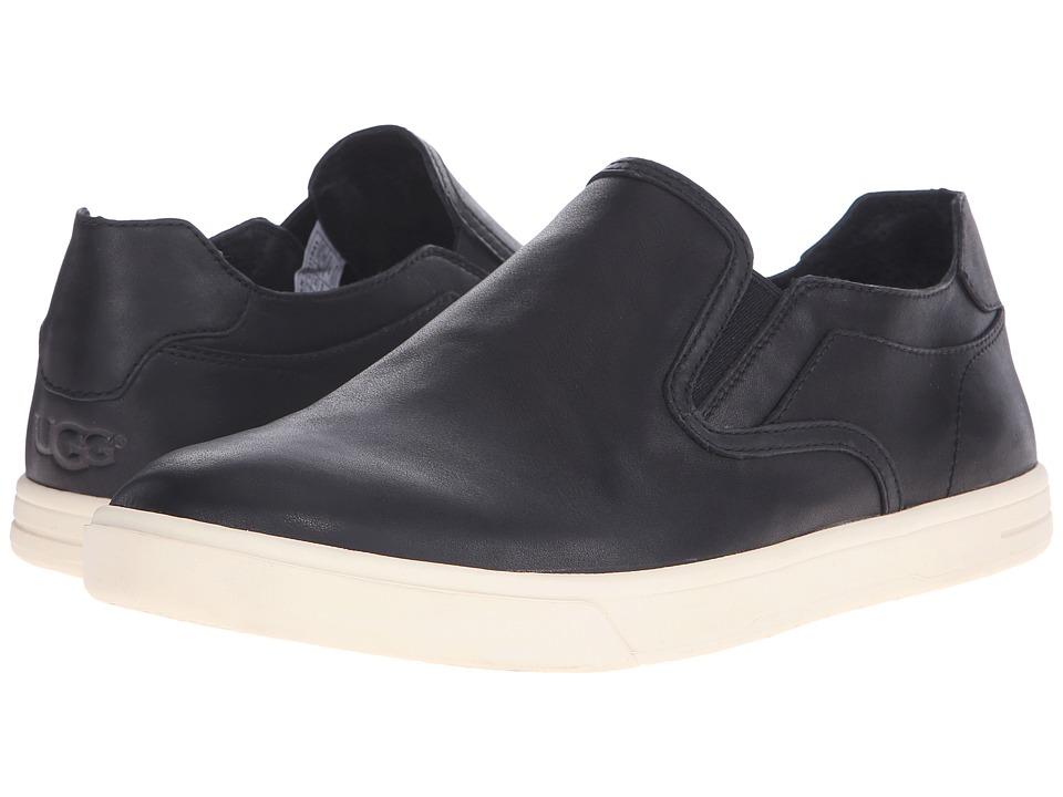 UGG - Tobin (Black Leather) Men