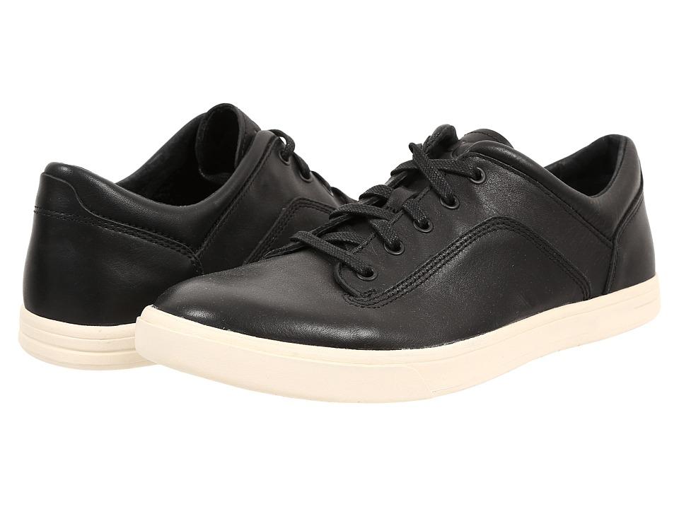 UGG - Bueller (Black Leather) Men