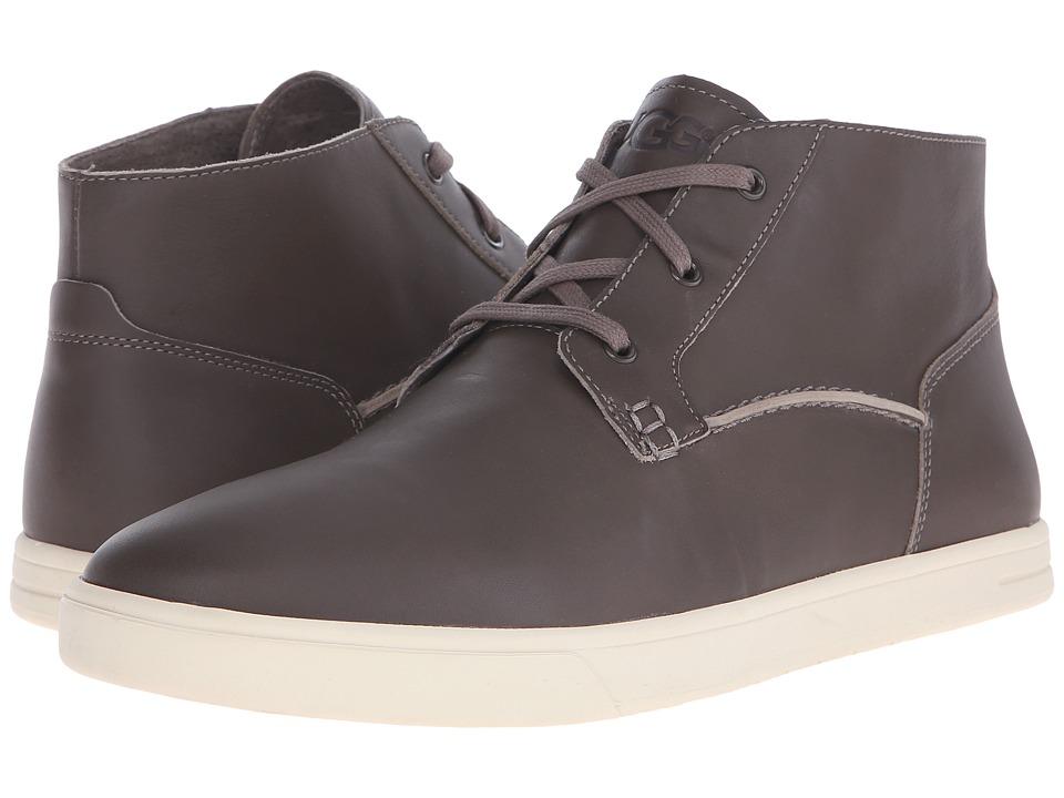 UGG - Kramer (Charcoal Leather) Men