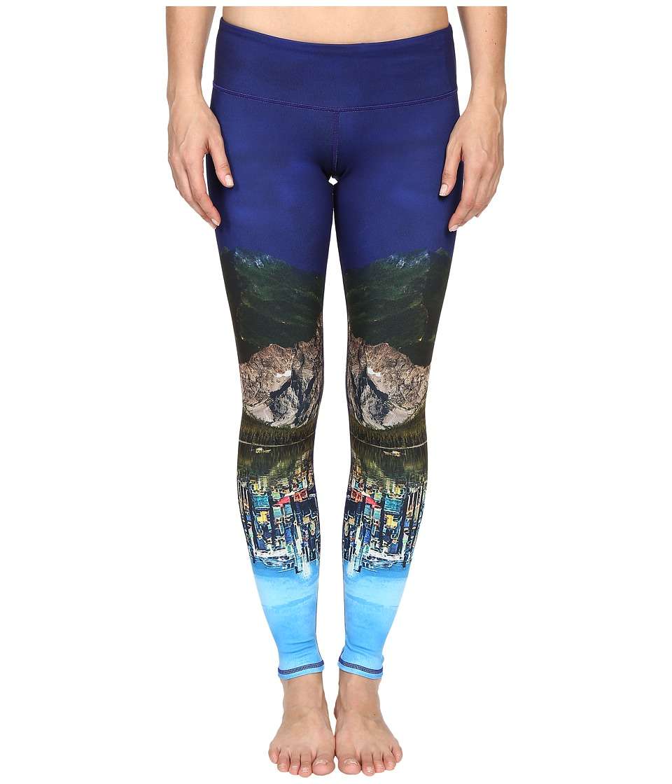 ALO Airbrushed Legging Dreamscape Womens Workout