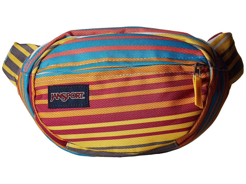 JanSport Fifth Avenue Pack Multi Sunset Stripe Bags