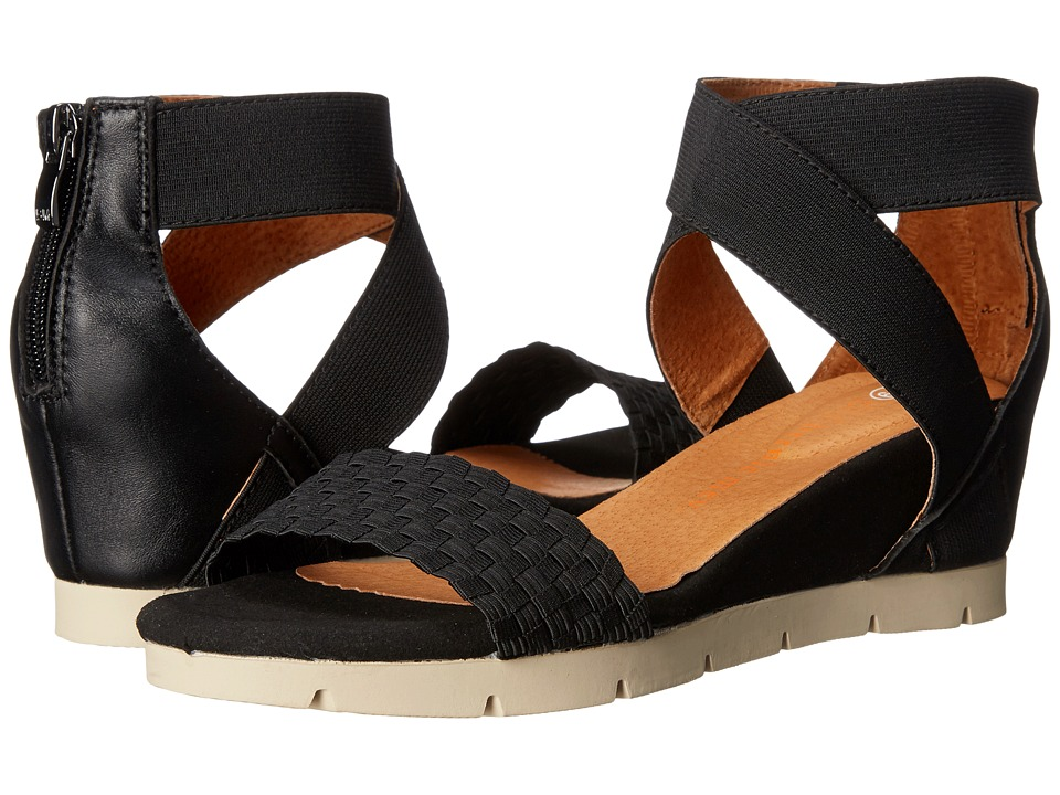 bernie mev. August Black Womens Sandals