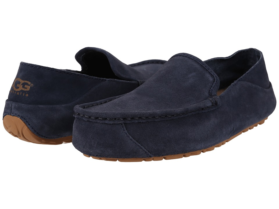 UGG - Hunley (Navy Suede) Men